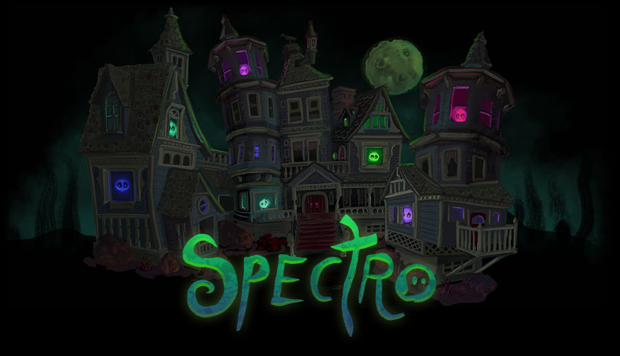 Spectro house in the woods