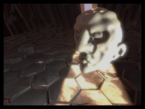 Mr. Creepy Head sculpt