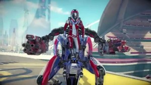 RIGS is an eSports title in development for Playstation VR